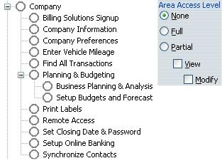 QuickBooks Enterprise User Permissions - QBalance com