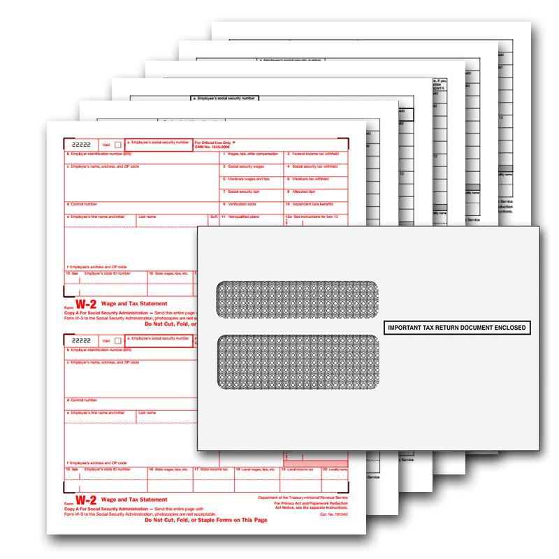 W2 Employee Tax Forms - https://www.qbalance.com